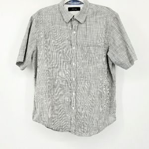 Tasso Elba pinstripe button down shirt